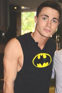 His arms. | 32 Things That Prove Colton Haynes Is The Most Beautiful Man Alive
