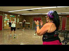 Zumba Samba fitness workout