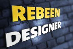 @rebeen designer Company Logo, Logos, Design, Logo
