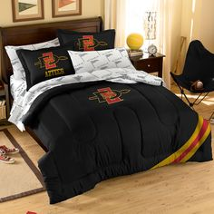 San Diego State Aztecs NCAA Bed in a Bag (Full)