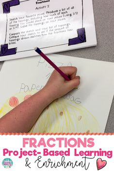 8 interactive and fun 1st and 2nd grade common core math enrichment projects that foster real life problem-solving. These project-based activities challenge elementary students and are perfect for gifted or highly capable students. Click the link to see what this is all about! #enrichment #mathenrichment #commoncore #commoncoremath #math #PBL #projectbasedlearning #1stgrade #firstgrade #2ndgrade #secondgrade #mathactivities #fractions #fractionsofshapes
