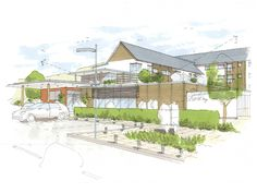Hatcher Prichard Architects Bristol Cardiff | Extra Care Housing, Pembrokeshire