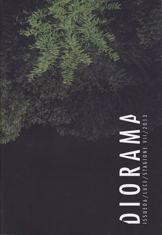 BOOKLET LIBRARY - Diorama Magazine