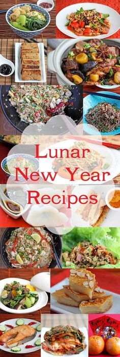 Lunar and Chinese New Year Recipes