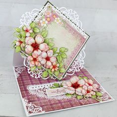 Heartfelt Creations exists to dynamically inspire, uplift, and add value to papercrafters. Card Making Tutorials, Making Ideas, Handmade Birthday Cards, Handmade Cards, Stampin Up Cards, 3d Cards, Heartfelt Creations Cards, Stampin Up Christmas, Distressed Painting
