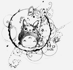 Totoro by eREIina.deviantart.com on @DeviantArt