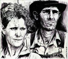 Campesinos USA Fecha: 29 de junio de 1979 Medidas: 21'50 x 18'30 cm Soporte: Papel Técnicas utilizadas: Tinta china y bolígrafo negro