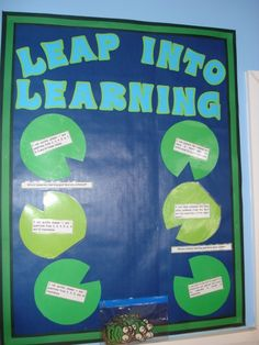 Leap into Learning - Class Targets classroom display photo - Photo gallery - SparkleBox