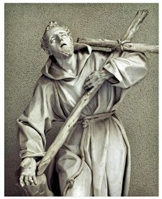 St Francis of Assisi holding the Cross Italy, Unknown artist