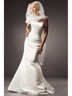 klassischen Brautkleid