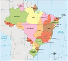 Brasil – Divisão político-administrativa em 1943