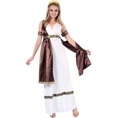 Pour une soirée déguisée sur le thème antique, ce costume grec pour femme conviendra parfaitement pour faire la déesse ou la reine des temps anciens. Duster Coat, Wrap Dress, Two Piece Skirt Set, Skirts, Jackets, Up, Dresses, Fashion, Mardi Gras