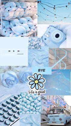 Hintergrundbilder Iphone Pastell - blue aesthetic background - - My list of quality wallpaper Iphone Wallpaper Tumblr Aesthetic, Iphone Background Wallpaper, Aesthetic Pastel Wallpaper, Aesthetic Backgrounds, Galaxy Wallpaper, Aesthetic Wallpapers, Wallpaper Lockscreen, Aqua Wallpaper, Pastell Wallpaper