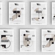 #connectetapes Some nice typographic posters by freelance designer @antinas1 for the festival Taratsa. He combines numbers and letters to indicate projection places.  #typography #posters #filmfestival  Share your work with us by identifying @etapes on your pictures.