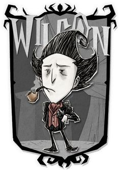 Wilson | Don't Starve Together Character Portraits