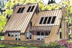 shed style homes | Shed Style Floor Plans – Shed Style Home Designs from FloorPlans.com
