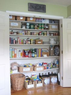 large closet Pantry