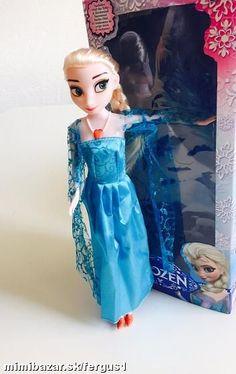 SPIEVAJÚCA bábika ELSA z FROZEN