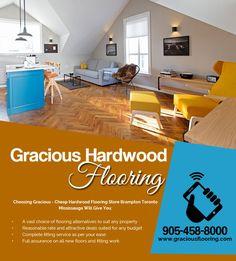 Gracious Flooring is one of the best Hardwood Flooring Stores in Brampton. Supplies Tiles, Laminate, Hardwood, Mouldings, Baseboards etc. Call us: Prefinished Hardwood, Engineered Hardwood, Cheap Hardwood Floors, Flooring Store, Baseboards, Ontario, Toronto, Shop, Home Decor