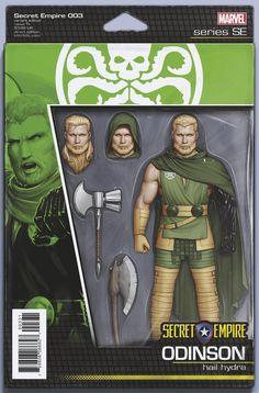 Secret Empire #3 (Cover D John Tyler Christopher Action Figure Variant)