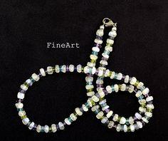 Mondstein - Passion Collier 925er Silber Geschenk - ein Designerstück von FineArt-Loomis bei DaWanda