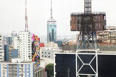 Streetart: Eduardo Kobra New Mural In Sao Paulo // Brazil (6 Pictures)