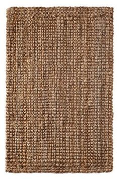 Handspun Jute Area Rug - 2x3 feet - by Iron Gate - Hand woven and Hand stitched - 100% Natural eco-friendly Jute yarns - Textural thick ribbed construction - Other sizes Available - 3x5 feet, 4x6 feet, 5x8 feet, 7 feet 6 inches x 9 feet 6 inches - for indoor use only:Amazon:Home & Kitchen