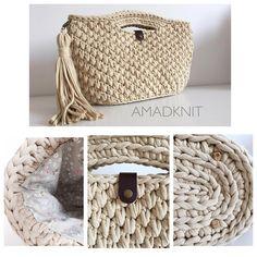 "Album ""Asahi Original - Bag Us Crochet Clutch, Crochet Handbags, Crochet Purses, Crochet Bags, Yarn Inspiration, Diy Handbag, Craft Bags, Knitted Bags, Crochet Accessories"