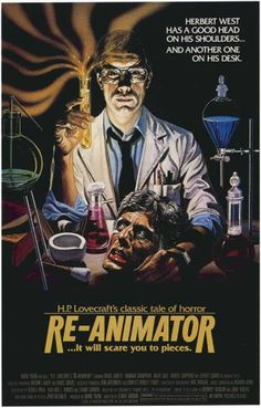Re-Animator Poster Style B (1985)