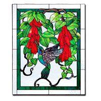 Free Pattern, Hummingbird And Vine