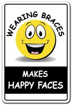 Why one tooth hurts with braces? when one tooth hurts with braces, it can mean several things.you should go see your orthodontist. Dental Quotes, Dental Humor, Braces Humor, Dental Facts, Dental Hygienist, Dental Surgery, Dental Implants, Orthodontic Humor, Getting Braces
