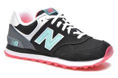 New Balance WL574 Zwart - Sneakers bij Sarenza.nl (238308)