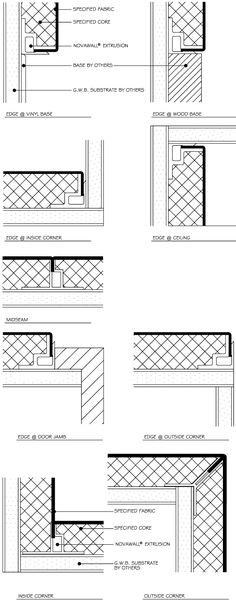 wall shadow gap detail - Google Search