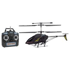World Tech Toys Hercules X Black Series Unbreakable Remote Control Helicopter