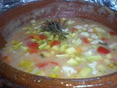 Minestrone in cartoccio a bassa temperatura