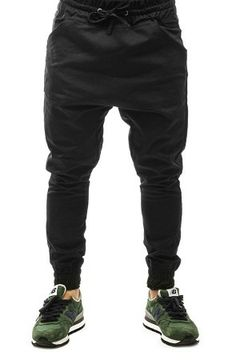 ARSNLThe Renner Dropcrotch Jogger Pant in Black Twill « FLASHXHYPE