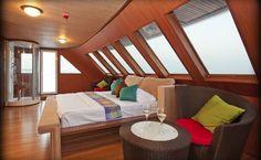 suite interior on-board Handy Cruise