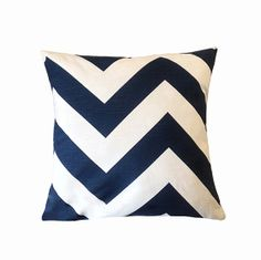 ON SALE Navy Blue Pillow Covers. Toss Pillows. by iHeartPillows