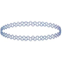 TOPSHOP Blue Tattoo Choker ($12) ❤ liked on Polyvore featuring jewelry, necklaces, accessories, chokers, fillers, blue, plastic choker necklace, topshop jewelry, blue choker necklace and choker necklace