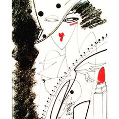 #artfashion#drawing#illustration#red#white#black#hair#style#love#blackandwhite#hat#design#fetish#shoes#coat#dots#for#girls#instagood#instagram#instalove#instadaily#noeemi