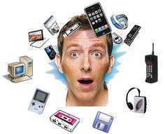 Vídeo Infografía sobre la Tecnología de los años 80 versus la actual