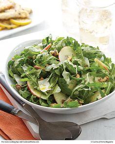 Arugula and Apple Salad | Cuisine at home eRecipes