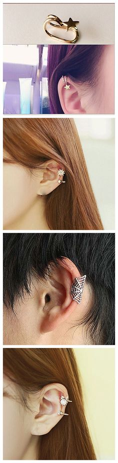 Small and dainty ear cuffs are a hit! Which one do you like? Click to find more.