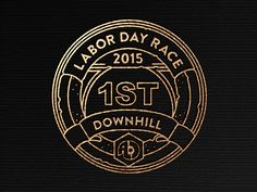 New ALC Labor Day Race medal mockup.