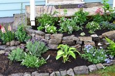 Tiered bed with broken concrete...Time to Start on the Garden | Ruby Sipes