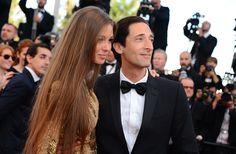 Adrien Brody et Lara Lieto, les marches du 21 mai, #Cannes2013
