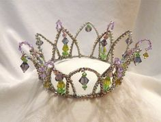 Rhinestone Ballet Tiara  --Made-to-order Headpiece-- Completely Customizable