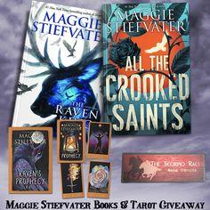 Maggie Stiefvater Books & Tarot YA Giveaway