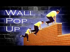Wall Pop Up - Fastest Way Up a Wall Parkour Tutorial