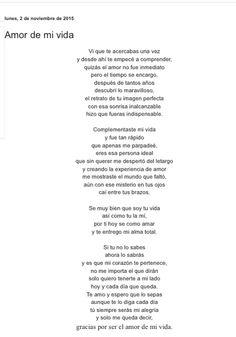 Amor de mi vida por Diana García Botero